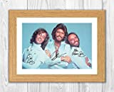 Gravia Digital Bee Gees (1) Reproduktion Autogramm Foto