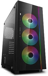 DEEPCOOL ATX Mid Tower 3pcs Add-RGB Cooling Fan pre-Install/Support E-ATX MB Cases MATREXX 55 V3 ADD-RGB 3F