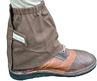Gaiters Canvas-Brown-Large