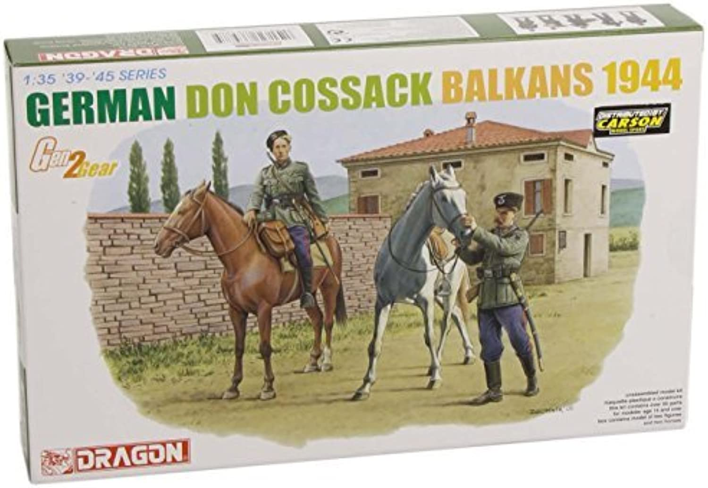 DRAGON 6588 German Don Cossack, Balkans 1944 Model Kit 1 35 by AOSHIMA