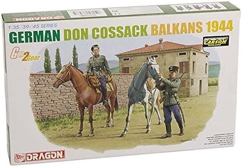 DRAGON 6588 Gerhomme Don Cossack, Balkans 1944 Model Kit 1 35 by AOSHIMA