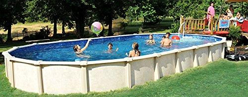 Interline 55000120 oval Pool Sunlake Komplett Set - 8