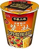 明星 中華三昧タテ型ビッグ 赤坂榮林 トマト酸辣湯麺 98g ×12個