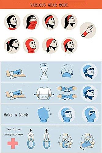 Headwear Headband Vintage Head Scarf Wrap Sweatband Sport Headscarves For Men Women