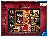 Ravensburger Puzzle 1000 Piezas, Villainous, Reina de corazones, Puzzle Disney, Rompecabezas Ravensburger de Alta Calidad, Villanos Puzzle, Edad Recomendada 12+