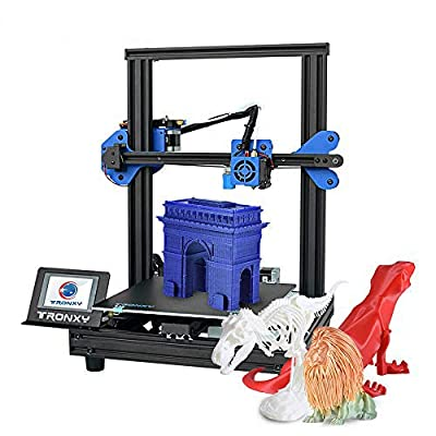 Aibecy XY-2 Pro 3D Printer Kit Fast Assembly 255 * 255 * 260mm Build Volume Support Auto Leveling Resume Print Filament Run Out Detection with 8G TF Card & PLA Filament 250g for TRONXY XY-2 Pro