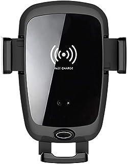Biaobiaoc 10 W Qi Auto Cargador inal/ámbrico r/ápido de ventilaci/ón Soporte de CD IR autom/ático tel/éfono m/óvil Soporte para iPhone XS X 8 para Samsung S9 S8 Note 9//8 Huawei Mate 20