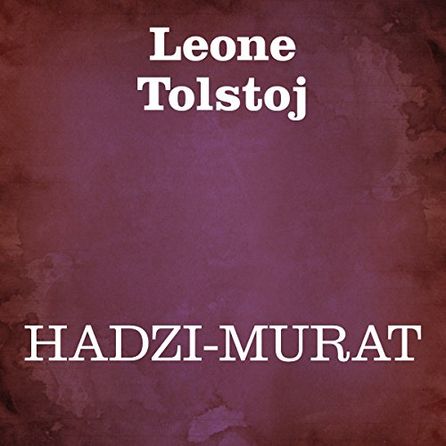 Hadzi-murat audiobook cover art