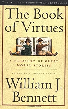 Paperback The Book of Virtues Book