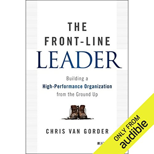 The Front-Line Leader audiobook cover art