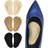 Dr. Foot's Arch Support Insoles for Flat Feet, Plantar Fasciitis, Relieve Pain for Women and Men (Beige+Brown+Black)