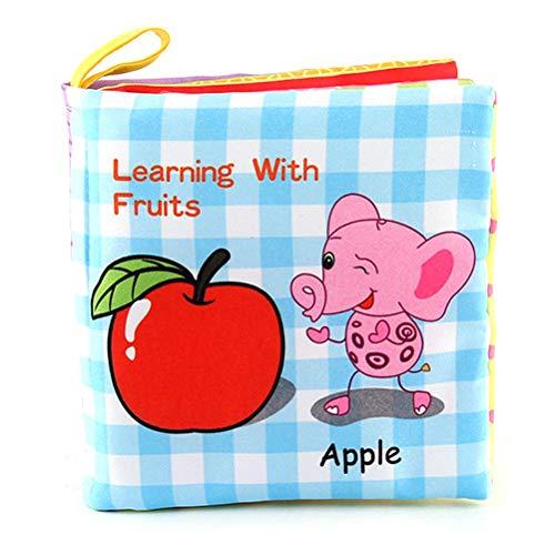 Borstu Baby stoffen boek, zacht boek, herbeschrijfbaar, zacht fotoboek, babyspeelgoed, geschenken voor baby's, peuters, pasgeboren