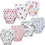 JackLoveBriefs Baby Kleinkind Töpfchen Unterwäsche Töpfchen Trainingshose (1 bis 6 Jahre, 7 Stück