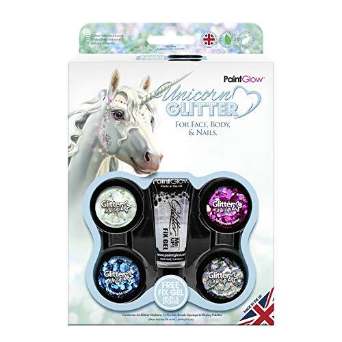 Paintglow - Unicorn Chunky Glitter Face Paint Stick - 1 boxset