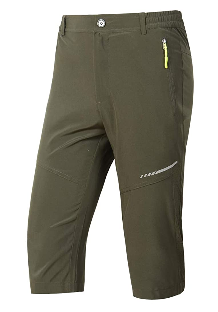 感度背景ある薄涼 7分丈 登山 カジュアル サイクルパンツ ゴルフ テニス ジョギングパンツ 散歩 釣りパンツ ルーズフィット バギーショーツ 通気