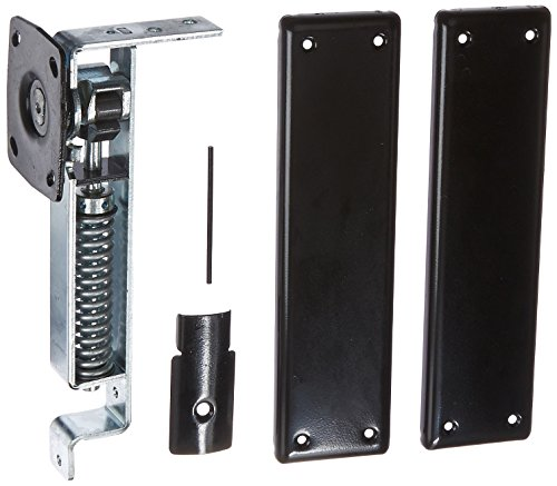 Bommer 7811601 7800 Series Cast Steel Horizontal Type Medium Duty Spring Pivot with Floor Plate, Steel Side Plate, 1.37