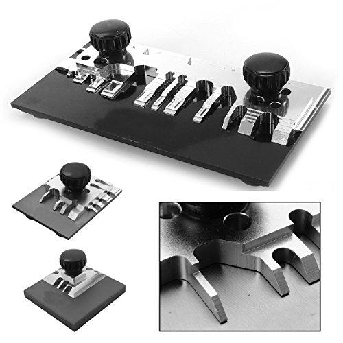 Oferta de MASUNN Juego de cuchillas para herramientas para doblar fotograbados modelo mini - S