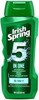 Colgate Colgate Pa Irish Spring 5-in-1 Shampoo, Conditioner, Body Wash, Face Wash & Deodorizer, 18 Ounce, 1 count