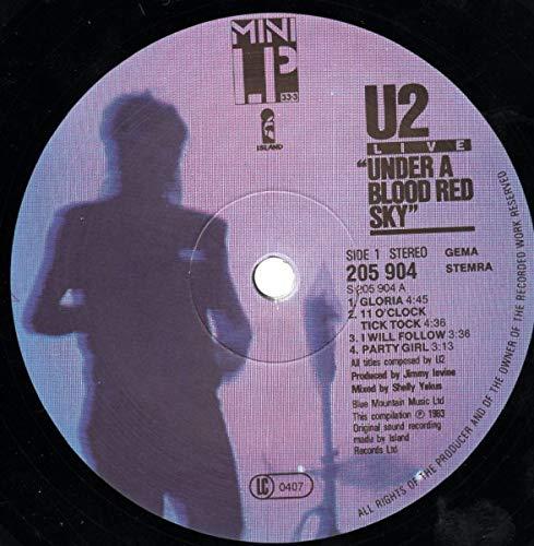 "U2: Live ""Under A Blood Red Sky"" [Vinyl] - 3"