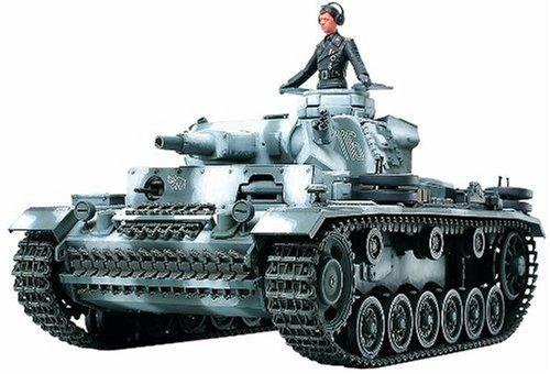 Tamiya 35290 - Maqueta para montar tanque Alemán Panzerkampfwagen III Ausf Escala...