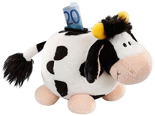 Nici 36837 - Spardose Plüsch Kuh figürlich