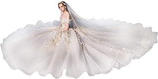 Damer lyxig hängande bröllopsklänning stjärnhimmel brudklänning cocktailparty kvällsklänning, LIFU