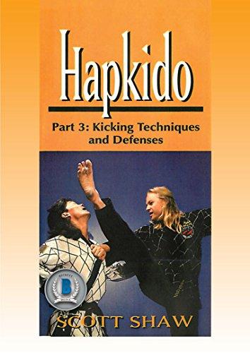 Korean Karate Hapkido #3 Kicking Techniques & Defenses DVD Scott Shaw -VD5192A
