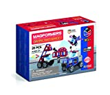 Magformers 717001 Amazing Police and Rescue Set Juguete de construcción magnético, rojo, azul, negro, gris , color/modelo surtido