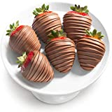 6 Magical Milk Chocolate Covered Strawberries