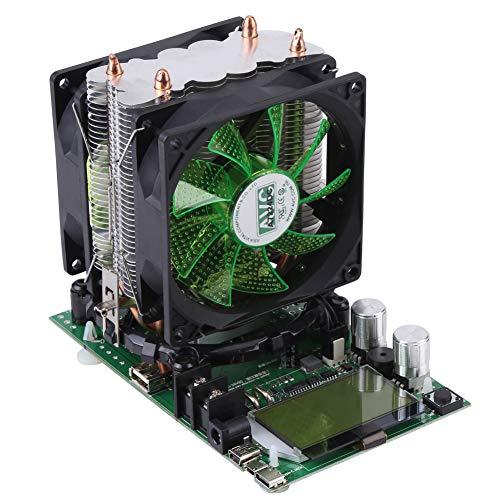 Carga electrónica de corriente constante 180 W, módulo de comprobador de capacidad de batería de carga de corriente constante con ventilador de refrigeración, 200 V 20 A capacidad de descarga del comp