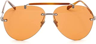 Luxury Fashion | Brioni Mens BR0061S003 Orange Sunglasses | Fall Winter 19
