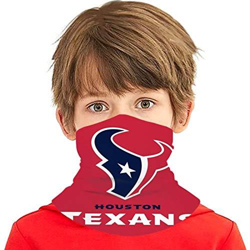Stoff Schild Abdeckung Houston Texans Kinder Hals Gamasche Eis Seide Bandana Schal