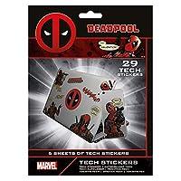(マーベル) Marvel オフィシャル商品 デッドプール パソコン・スマートフォン・タブレット用 スキンシール ステッカー (ワンサイズ) (Various)