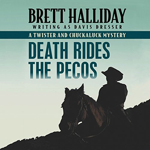 Death Rides the Pecos audiobook cover art