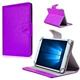 Nauci Tablet Tasche Hülle LG G Pad 2 8.3 LTE Case Universal Cover Schutzhülle, Farben:Lila