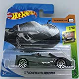 Hot Wheels 2018 #119//365 2017 PAGANI HUAYRA ROADSTER gris HW exotics