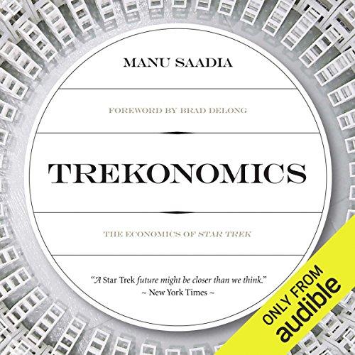 Trekonomics audiobook cover art