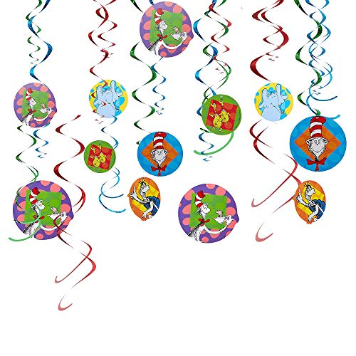 Amscan PARTY DECORATIONS, 7', Multicolor
