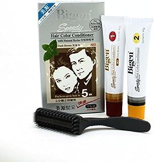 Bigen - Speedy Hair Color Conditioner #883 (Dark Brown) Hair Dye 1Set