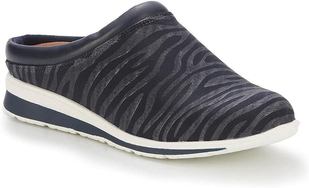 Walking Cradles Dana Women's Slip On 9.5 E US Navy-Zebra