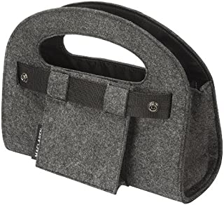 Maclaren Mini Utility Tote, Charcoal Felt (Discontinued by Manufacturer)
