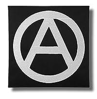 Backpatch Motiv Anarchy Symbol 28 x 28 cm von Patch-Shop