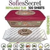 Softies Secrets Dog Wipes