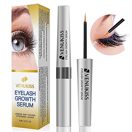 VENUKISS Eyelash Growth Serum & Lash Growth Serum. Lash Serum for Rapid Lash and Eyebrow! Professional Lash Rapid Growth Serum, Long and Thick Eyelash...