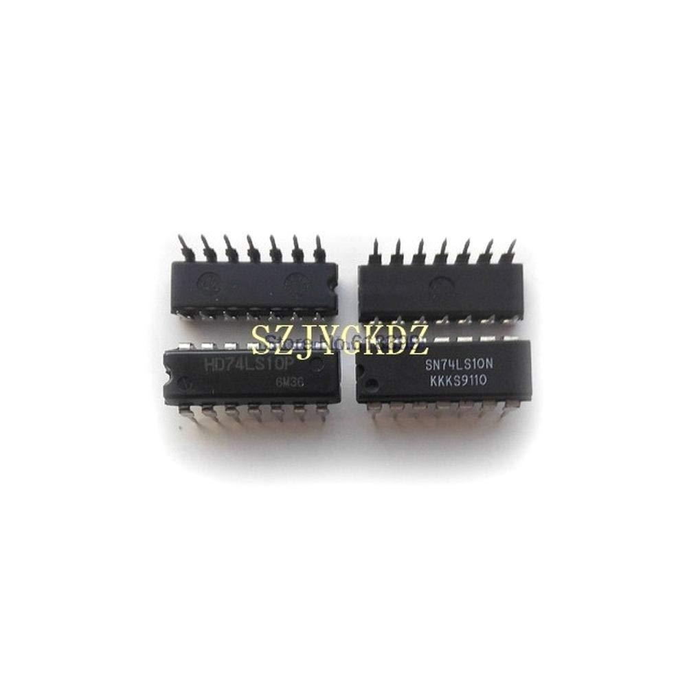 10pcs lot Hd74ls10 Logic Circuit 3 Wholesale D Indianapolis Mall Nand 3-Input Plastic Ls-TTL