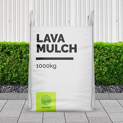 Lavamulch schwarz 8-16mm als dekorative Abdeckung für den Garten 5-1000kg inkl. Lieferung (1000)