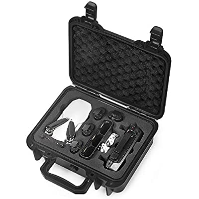 Lekufee Small Portable Waterproof Hard Case Compatible with DJI Mavic Mini Drone and Accessories