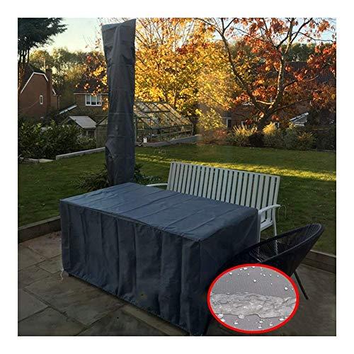 LBBZJM Garden Furniture Cover Outdoor Garden Furniture Cover Waterproof Dust-proof Sunscreen Sofa Mechanical Tarpaulin,blue, Gray, Custom Size (Color : A, Size : 125x125x70cm)