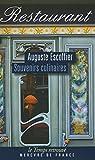 Souvenirs culinaires - Mercure de France - 11/09/2014
