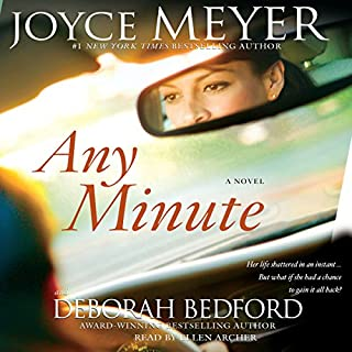 Any Minute audiobook cover art